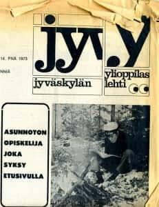Opiskelijoiden asuntotilanne on huolestuttanut ylioppilaslehdessä vuodesta toiseen. Tilanne ei ole muuttunut edes vuosikymmenissä, sillä asuntoasiat olivat Jylkkärin ykkösuutisena myös syksyllä 2009.
