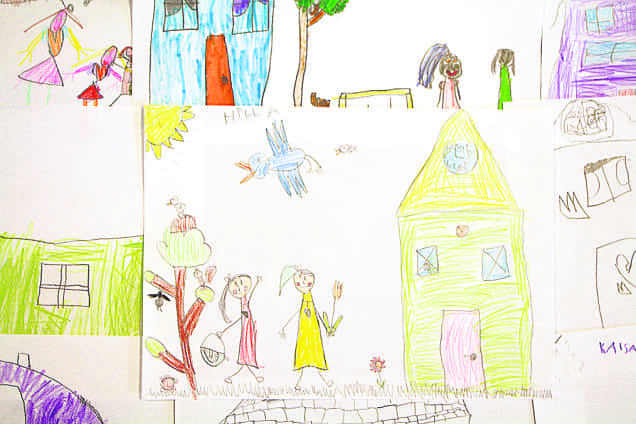 Drawings: Children of Kortesuo kindergarten