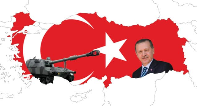 MAP: d-maps.com/carte.php?&num_car=703&lang=en, Erdoğan: prime minister gr (cc by-sa 2.0, creativecommons.org/licenses/by-sa/2.0/), tank: skaarup.ha (cc by-sa 3.0 creativecommons.org/licenses/by-sa/3.0/). ORIGINAL PICTURES HAVE BEEN CROPPEd. the image is licenced under cc by-sa 2.0 and cc by-sa 3.0.
